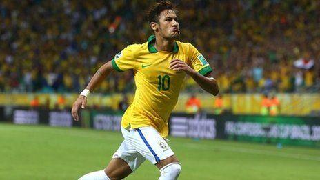 Neymar scores as Brazil beat Italy