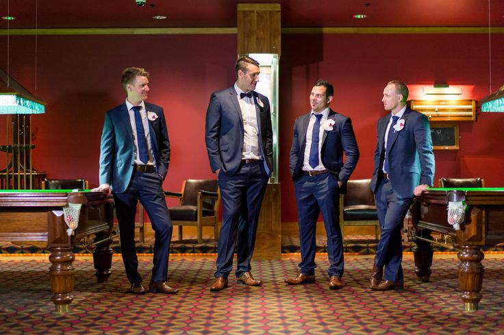 Grooms in the Billiards rooms