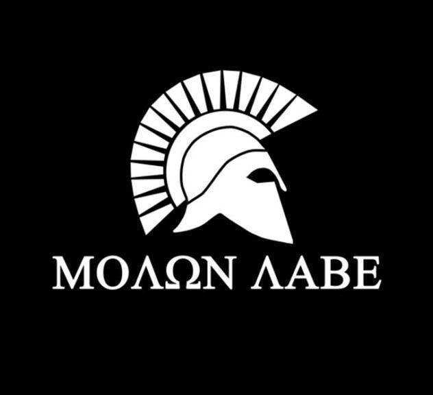 Molon Labe Spartan - Vinyl Decal Choose Size and Color Made with 100% Automotive Grade Vinyl.