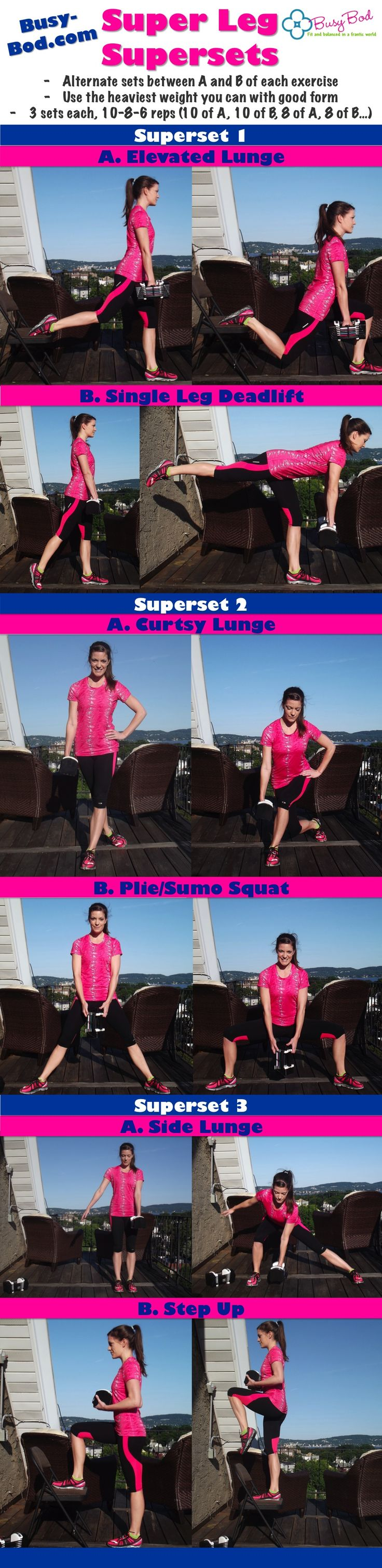 Shawn Johnson's The Body Department - Super Leg Supersets Workout