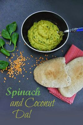 Glorious Spinach and Coconut Dal, made in under 30 minutes. High in protein and rich with B vitamins, thiamine and folic acid, as well as iron and zinc. #healthyrecipes #curries #dal #veggie #vegan