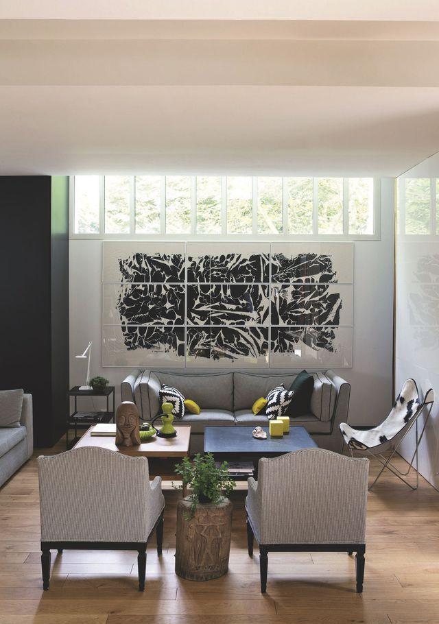 17 meilleures id es propos de chaise en peau de vache. Black Bedroom Furniture Sets. Home Design Ideas