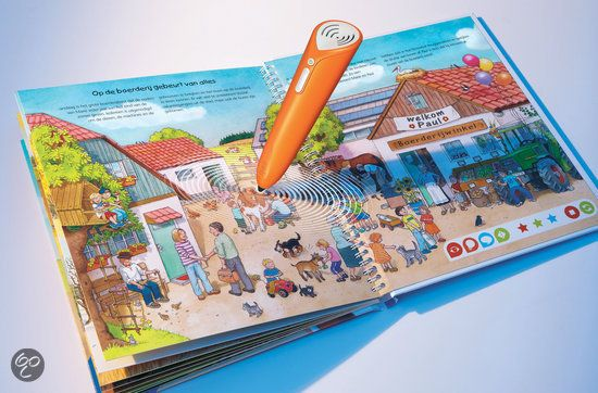 Ravensburger tiptoi- starterset boek boerderij + stift