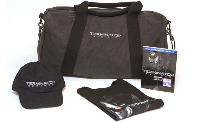 Contest: Terminator Genisys Blu-ray 3D Bundle with Duffle Bag and More