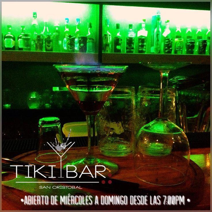 Es #viernes y #tikibar lo sabe recuerda que abrimos desde las 7:00pm y estamos ubicados en la calle 14 entre carreras 19 y 20 Barrio Obrero media cuadra más abajo del banco Provincial      #tikibar #sancristobal #tachira #venezuela #vivimosdefiesta @tikibarsc #gastronomia #cocteleria #bartender #chef #cocktails #tiki