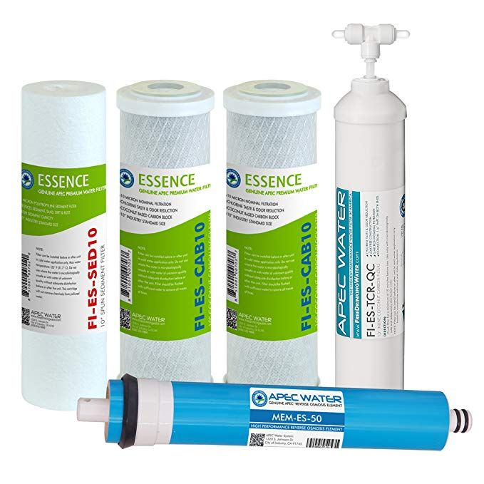 "APEC 1-SED10 US MADE 5 Micron 10/"" x 2.5/"" Sediment Water Filter For Reverse Osmosis System APEC Water Systems"