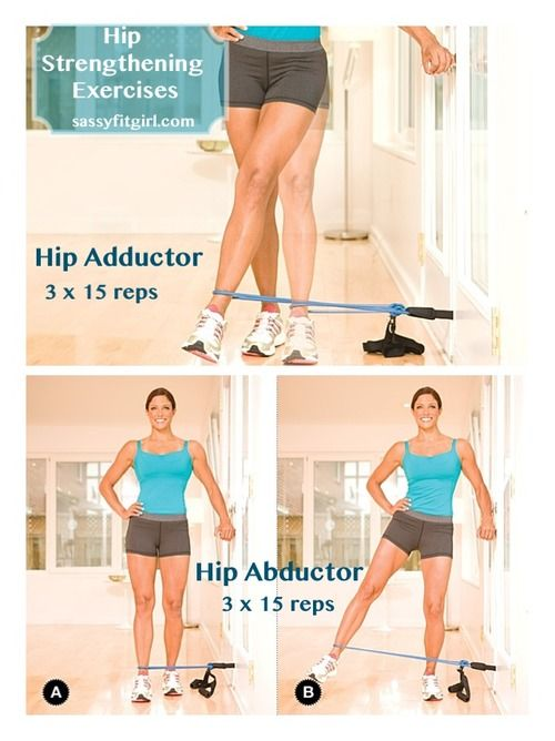 Hip Strengthening Exercises. These are essential for runners.