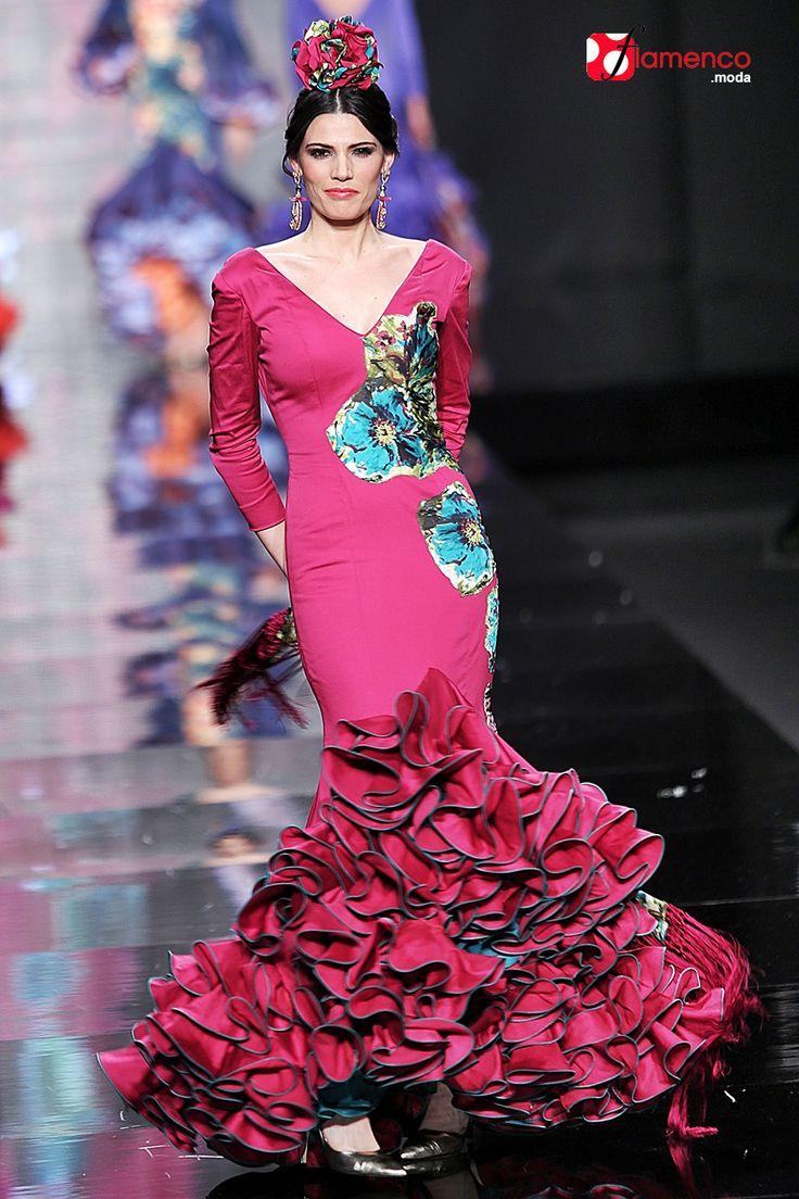 587 mejores ideas en vestidos flamenca en Pinterest | Moda flamenca ...