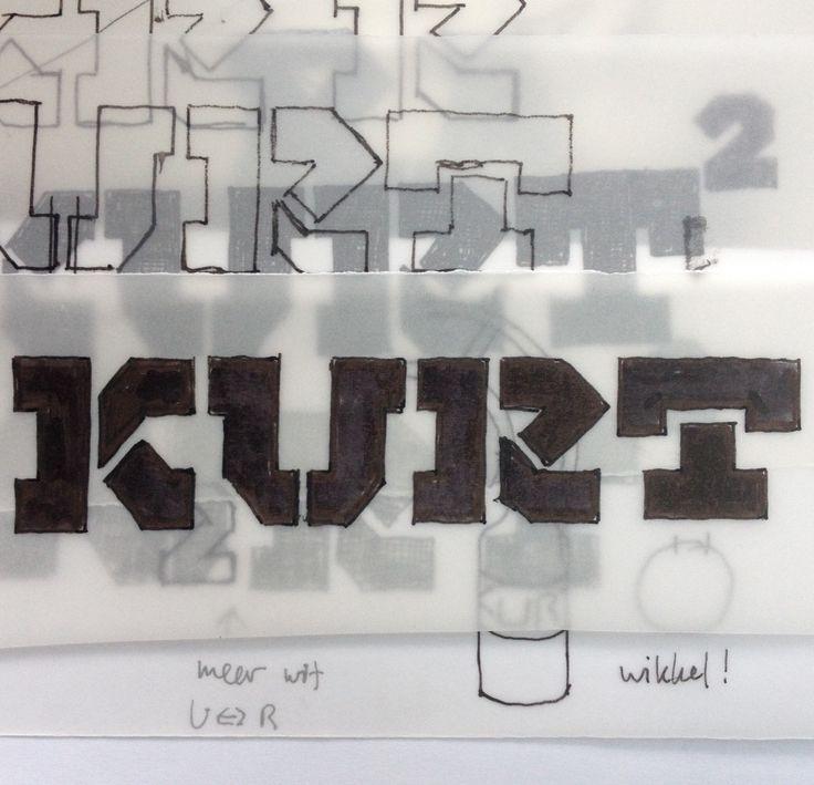 Rough Sketch #MOTORAMA ! Art Direction/Design #AndréToet © 2016 www.andretoet.com (Inspiration Garage-Sign, Italy)