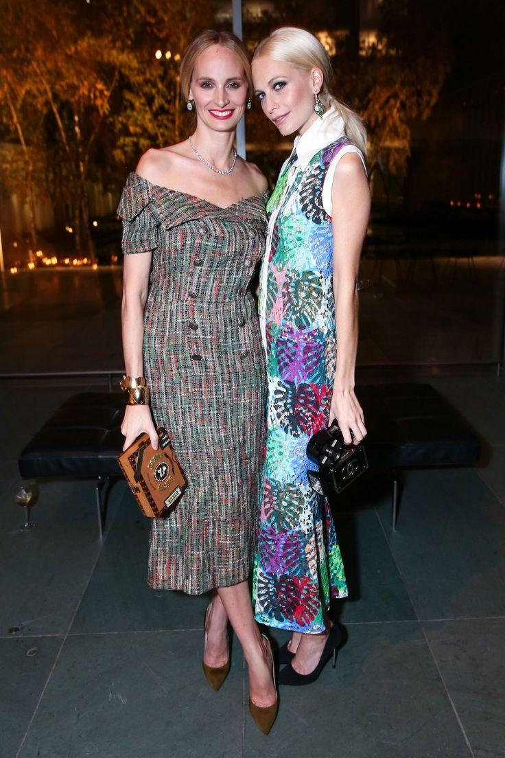 Lauren Santo Domingo and Poppy Delevingne, both in Chanel