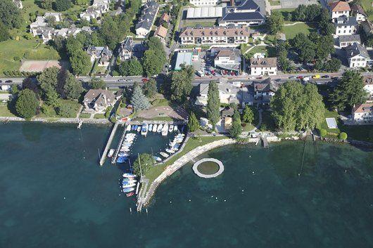 Port Gitana Bellevue vue aérienne