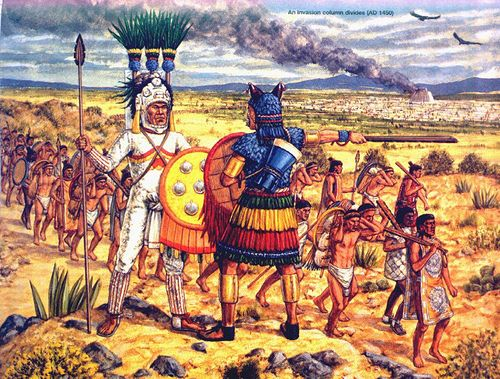 spanish conquest of the aztec empire essay The story of the conquest of the aztec empire by a small band of spanish conquistadors and their indian allies is one of the most famous episodes from history the spanish conquest of the aztecs in 1521, led by hernando cortes, was a landmark.