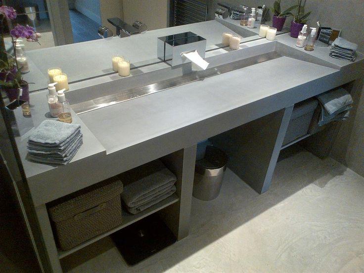 Les 25 meilleures id es de la cat gorie parois de douche for Faire un meuble de salle de bain