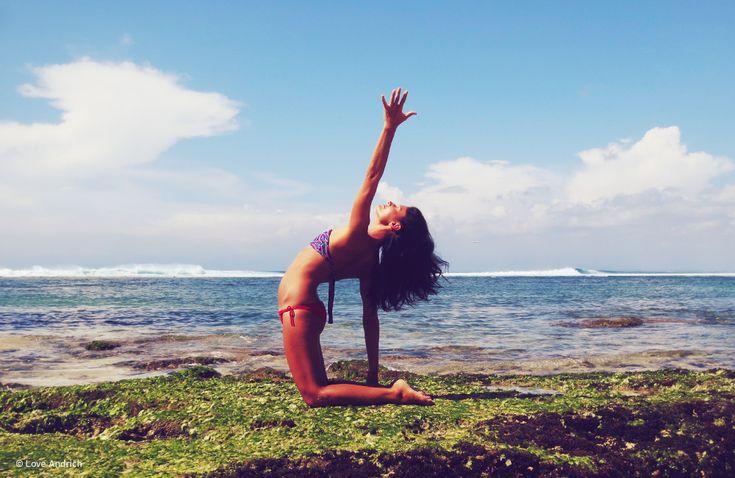 Yoga makes you come to life.   www.loveandrich.com