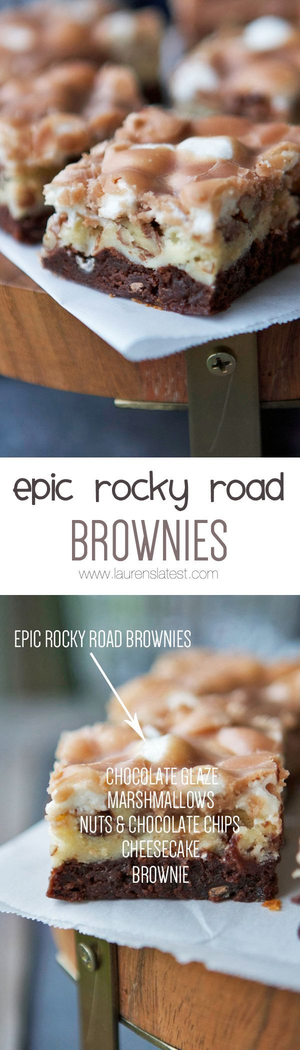 Epic Rocky Road Brownies