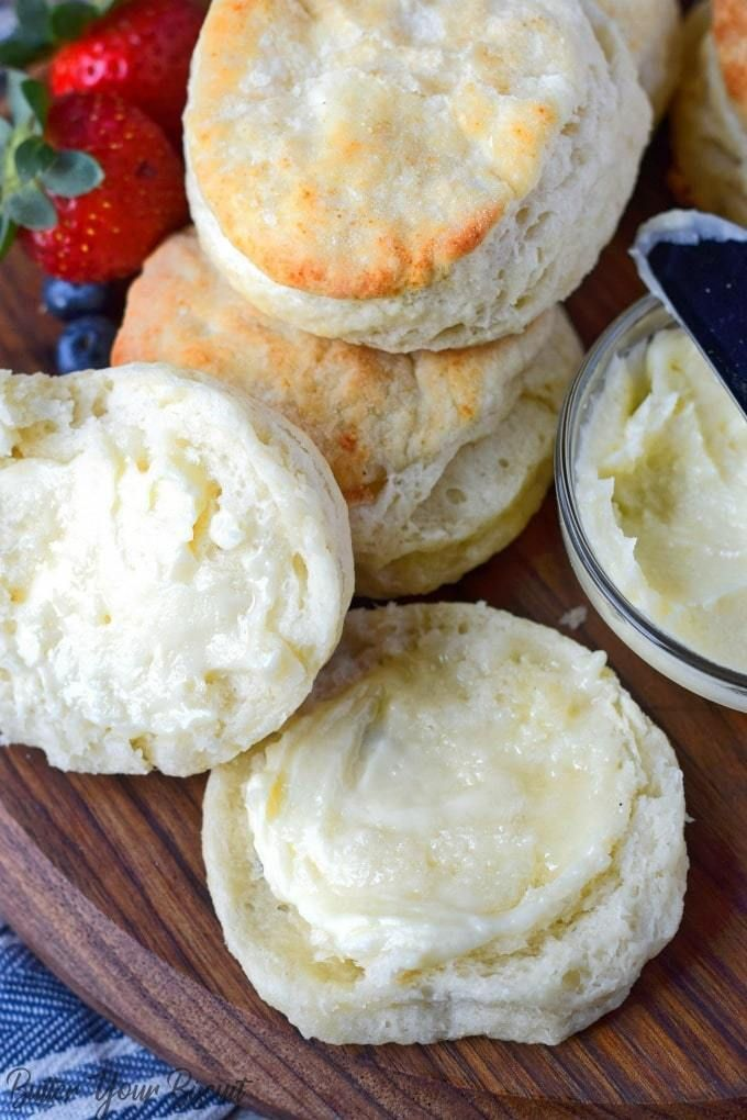 Buttermilk Biscuits With Honey Butter Recipe Butter Your Biscuit Recipe Honey Butter Recipe Honey Recipes Buttermilk Biscuits