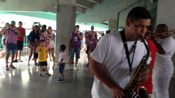 TORCIDA DO BAHIA - TEMPO DE ALEGRIA - Itaipava Arena Fonte Nova - HD