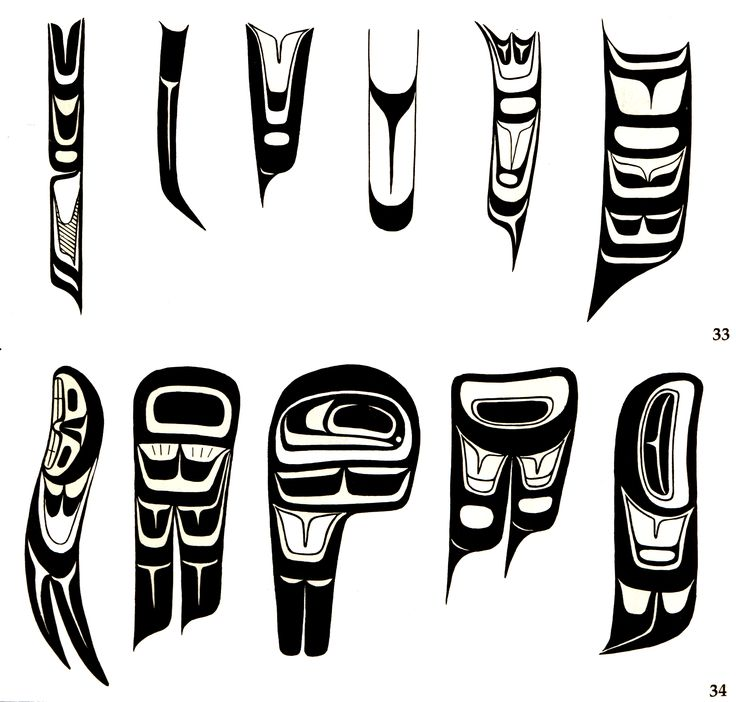 Feathers from Native art of the US Northwest coast
