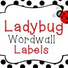 Use these cute word wall labels in any classroom!  Ladybug themed!  Includes: 2 Different Word Wall Label Sets 1 Blank Label    Enjoy!...