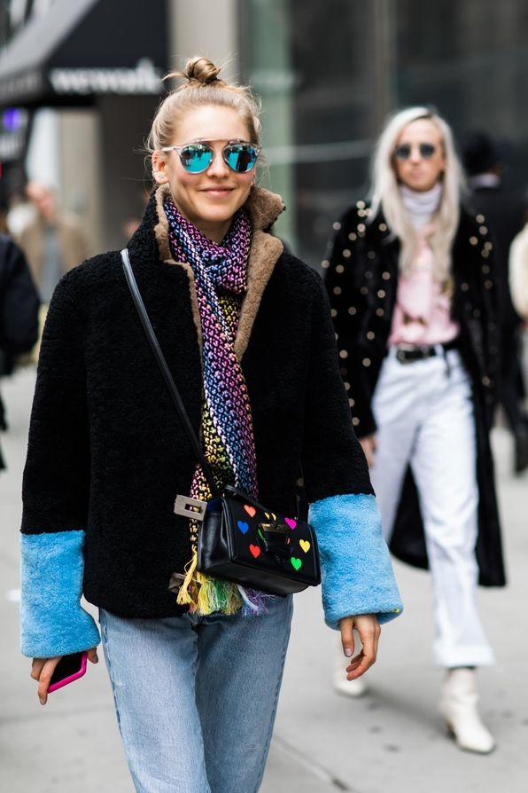 Street Style From New York Fashion Week Fall Winter 2018 2019