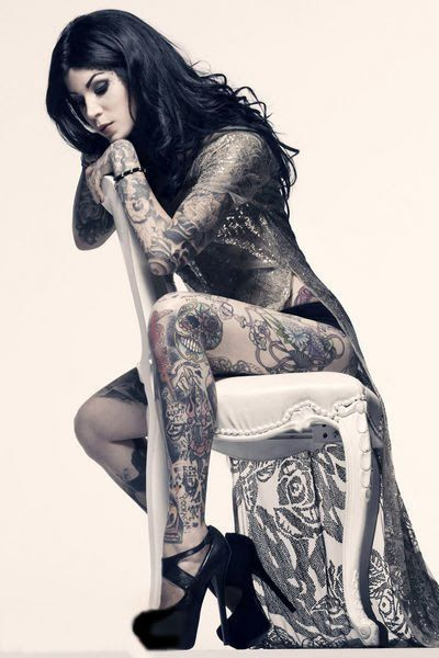 Kat Von D by James Dimmock for Inked Magazine