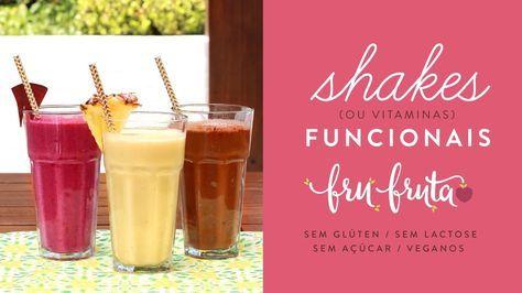 Shakes Funcionais – Pré-treino, Pós-treino e Café da Manhã