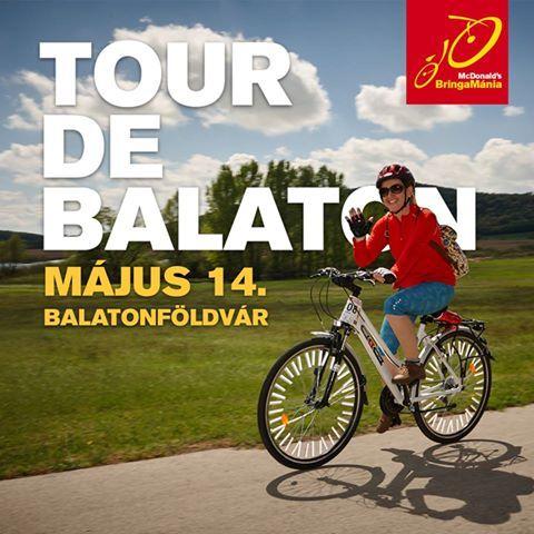 2016 Tour de Balaton ______________________________Egy kellemes bringatúra a Balaton körüli bringaúton, ahol el lehet indulni csapatban, de lehetőséget biztosítunk azoknak is, akik önállóan szeretnék teljesíteni a távot, szabadon választott 15-30 km/h-s tempóban. A közös túra hatalmas élmény, de nem mindenki szereti, mi mindent megteszünk azért, hogy mindenki jól érezze magát, az is aki imád csapatban haladni, és az is, aki nagyobb lendülettel falná a kilométereket.