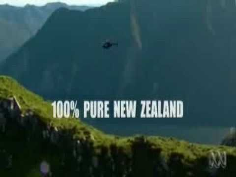 This advertisement from Australia is hilarious, especially the second half. My Kiwi friend tells me that New Zealand and Australia had a friendly advert battle going on and this was one of Australia's shots across the bow so-to-speak.