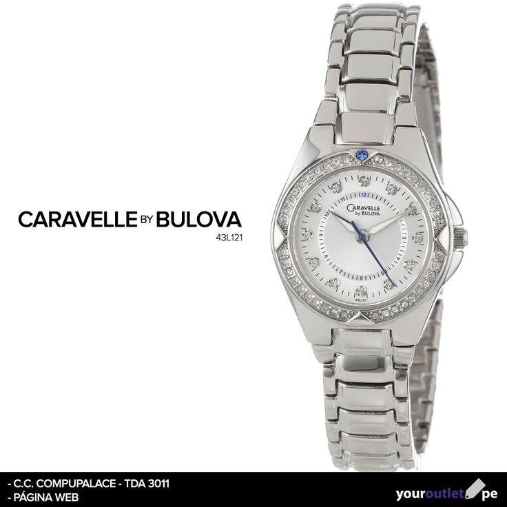 Date un gusto o sorpréndela con este reloj Caravelle By Bulova.  Nuevamente en Your Outlet al mejor precio.
