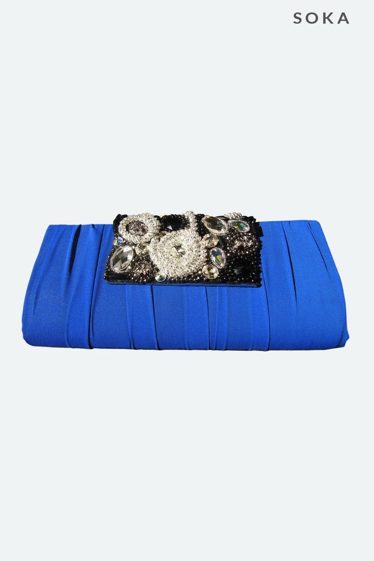 Blue Electric Clutch Bags | Online shop for women's clothing, find the hottest women's fashion items
