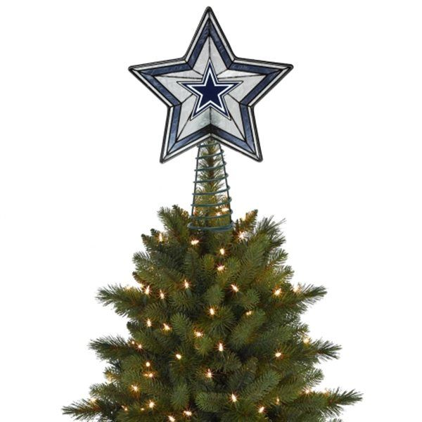 Only A Dallas Cowboys Star Is Worthy To Top A Tree! Christmas ...
