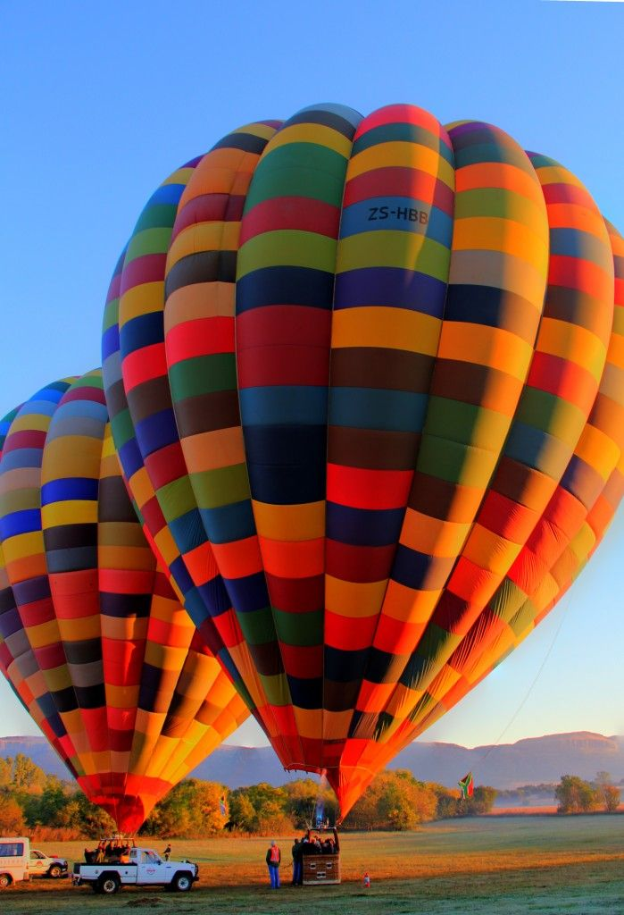 Um Balão, uma intensa Sensação, um movimento na Imensidão, apenas Eu e o Balão!