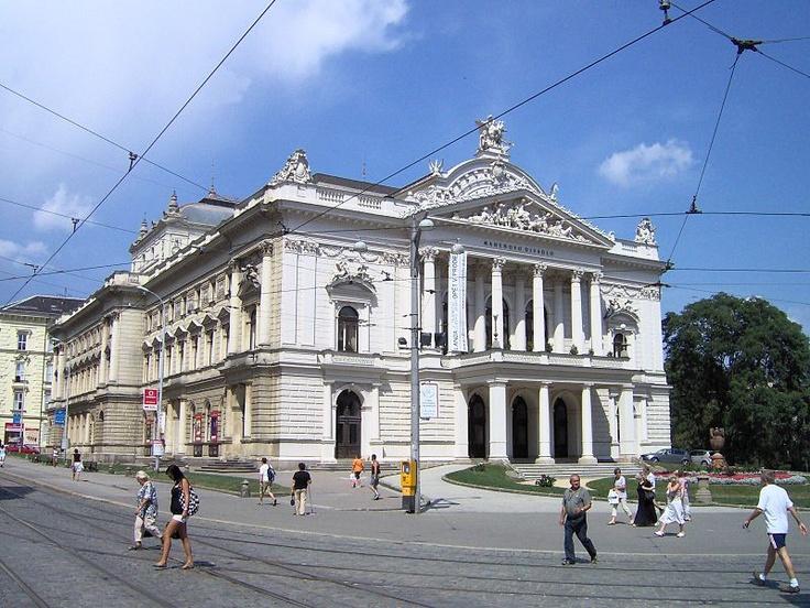 Malinovsky Square - Mahen Theatre