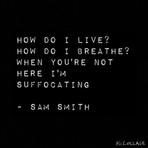 Sam Smith #writing on the wall