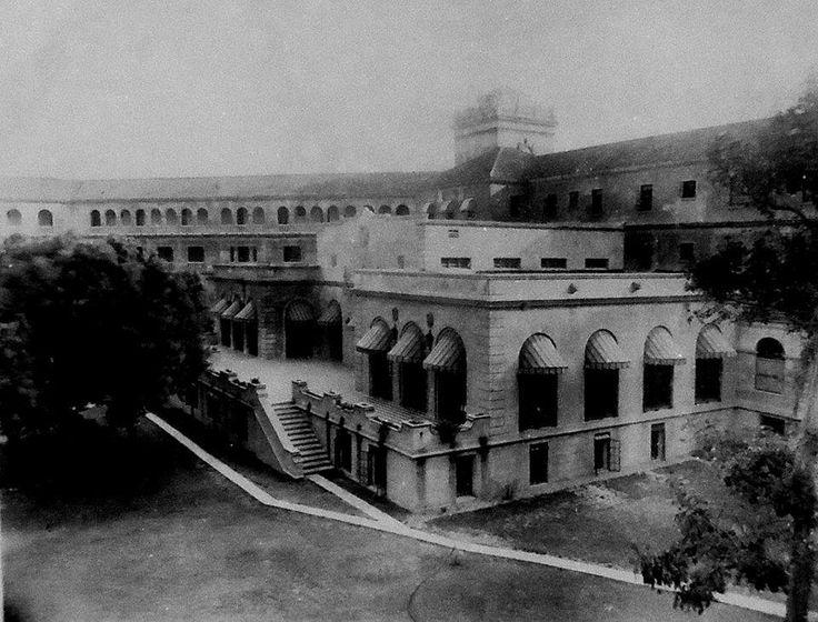 Seguimos recordando al majestuoso HOTEL DEL PRADO HOY desde otro angulo 1944