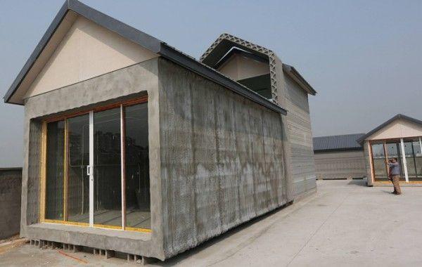Imprimante 3D : une maison de 200m² à 3 500 euros !