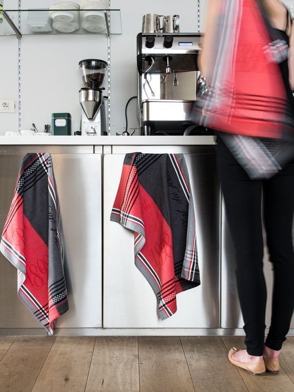 De Witte Lietaer Bistro  Theedoekenset: Met plezier afdrogen? Dat kan met deze vrolijke theedoeken. #keuken #kitchen