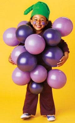 Grapes halloween costume