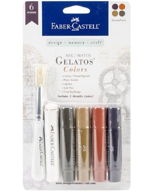 Faber Castell Gelatos - Pigment Sticks - Manhattan 6 st. €14,95