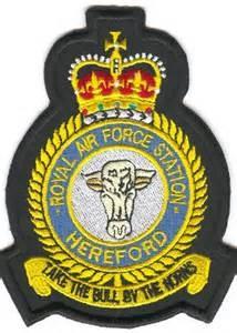 RAF Station Hereford 1980 began trade Training