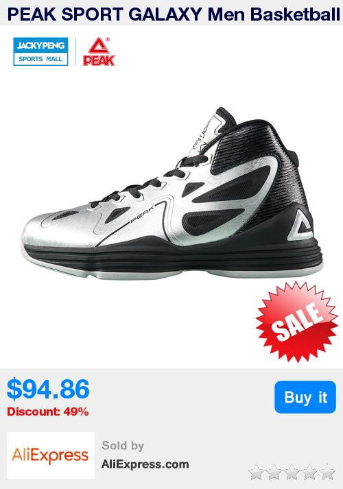 PEAK SPORT GALAXY Men Basketball Shoes Breathable Athlete Training Sneakers FOOTHOLD Gradient Dual Tech Ankle Boots EUR 40-47 * Pub Date: 10:11 Apr 12 2017
