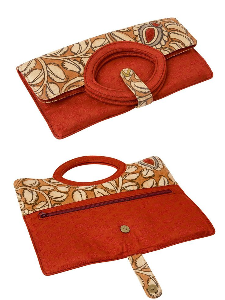 Kalamkari clutches...Inspiration only; no link or pattern