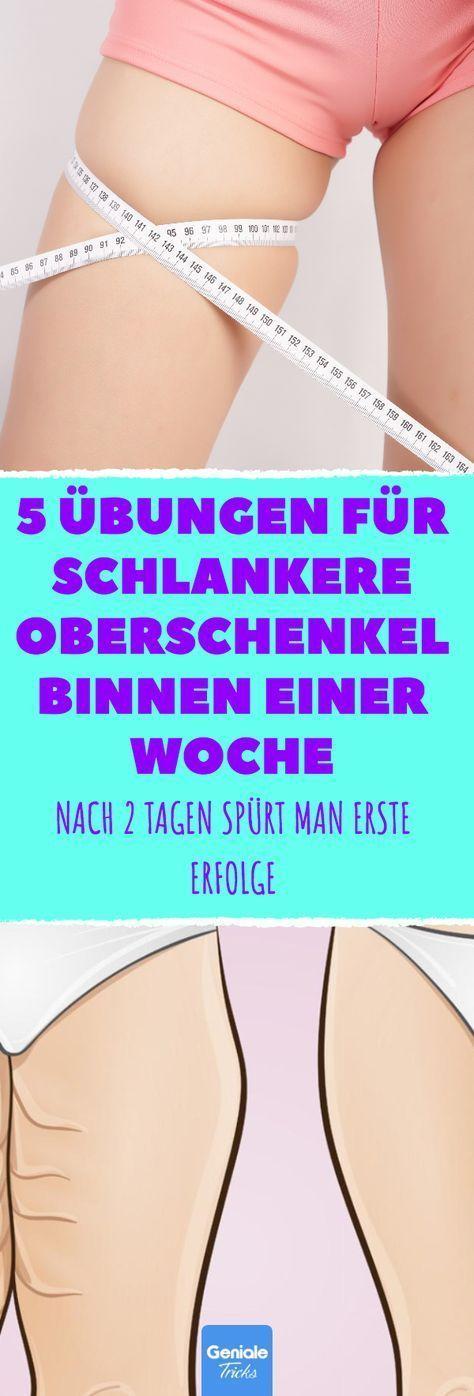 5 Übungen für schlankere Oberschenkel in einer Woche. #training #oberschenkel … – Helga Klagges