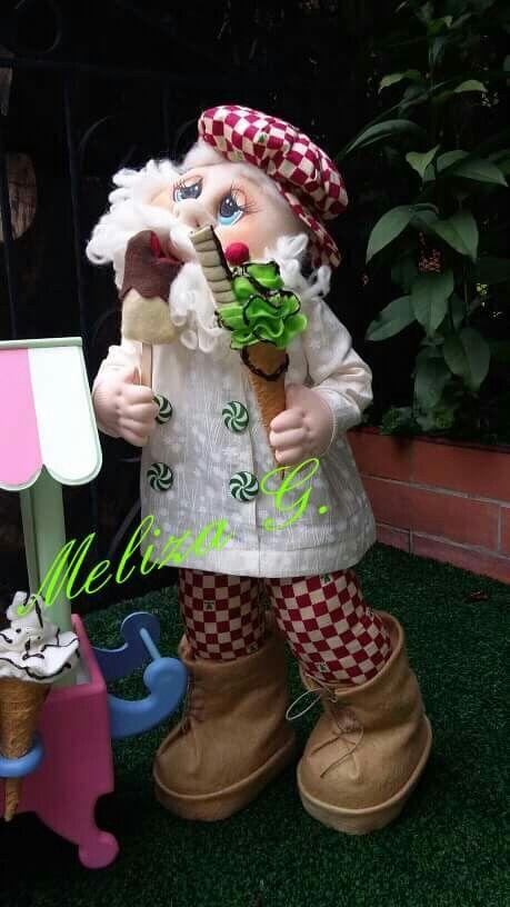 Santa.. come helados