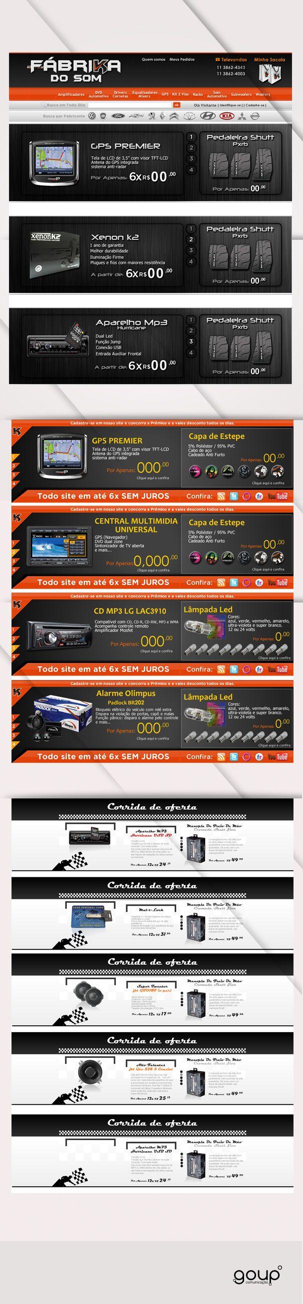 Banners Fabrikadosom.com.br