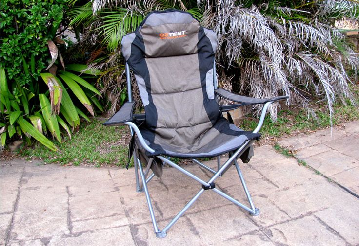Oztent King Goanna Chair – Comfy As