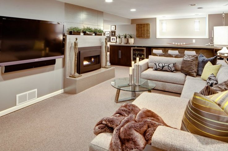 PHOTOS 8 Awesome Basements Wed Love To Hang Out In Basement MakeoverBasement Decorating IdeasBasement RemodelingBasement