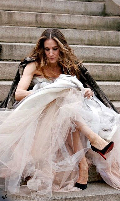 """""""Maybe it's time to be clear about who I am. I am someone who is looking for love. Real love. Ridiculous, inconvenient, consuming, can't live without each other love. and I don't think that love is here in this expensive suite, in this lovely hotel, in Paris."""" - Carrie Bradshaw"""