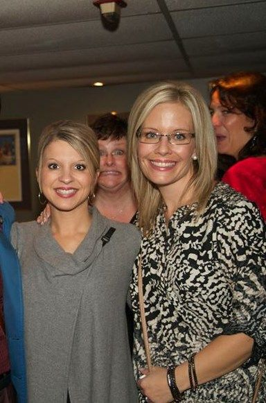 Two of my favourites.  Misty & Janelle & Photobomber Marybeth. @onesolution
