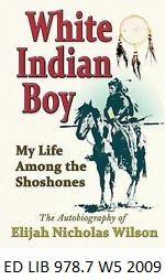 White Indian Boy - by Elijah Wilson.
